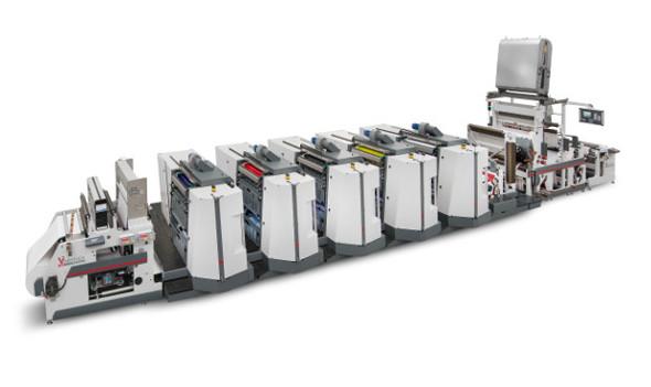 Zur Drupa 2016 präsentiert Omet die Varyflex V2 mit neuen Offsetdruckwerken.